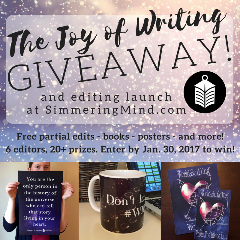 The Joy of Writing Giveaway (1)